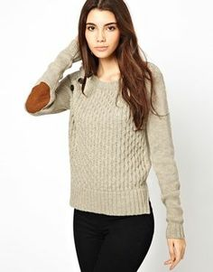 Cable Sweater With Button Detail #asos #ad *winter wear