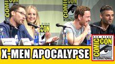X-Men: Apocalypse Comic Con Panel - Hugh Jackman, Jennifer Lawrence, Michael Fassbender and Cast!