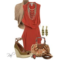 """Fall Wedges"" by pamlcs on Polyvore"