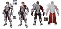 Mobile game, Archeage Begins character,Gene Everknight, Hotduck Yoon Character Concept, Character Art, Concept Art, Character Design, Character Ideas, Knight Armor, Fantasy Armor, Mobile Game, Fantasy Characters