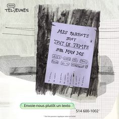 Campagne sur facebook pour Tel-jeunes  https://www.facebook.com/teljeunes