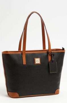 Dooney & Bourke 'Charleston - Pebble Grain Collection' Water Resistant Tumbled Leather Shopper available at #Nordstrom