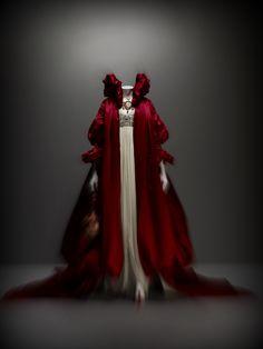Alexander McQueen Beaded Evening Gown.