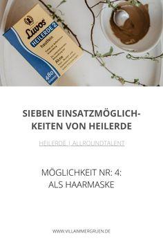 Heilerde |Allroundtalent - Möglichkeit Nr. 4: Als Haarmaske Shampoo, Oil Control, Organic Beauty, Masks