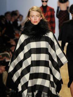 Michael Kors #fur #winter #poncho
