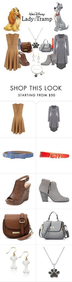 """""""lady and the tramp"""" by adisneygirlme ❤ liked on Polyvore featuring WearAll, Kate Spade, Brooks Brothers, Charles by Charles David, rag & bone and Cooper St"""