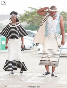 Xhosa wedding traditional dresses What are Xhosa styles for bells occasion? You accessible the wardrobe, and the aboriginal anticipation is 'I accept. Wedding Attire For Women, African Wedding Attire, Wedding Dresses For Kids, African Attire, African Wear, African Dress, African Style, Wedding Outfits, African Traditional Wedding