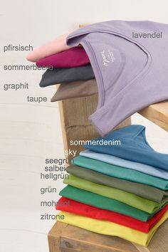 Basic Top : Maas Natur - Ökologische Mode, fair produziert für die ganze Familie