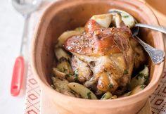 Sörös-mustáros csülök Meat Recipes, Pork, Turkey, Chicken, Kale Stir Fry, Turkey Country, Pork Chops, Cubs