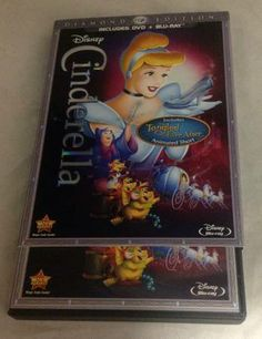 Cinderella Diamond Edition 2-Disc DVD Set SOLD! Was available at Gadgets & Gold in Gainesville, FL!