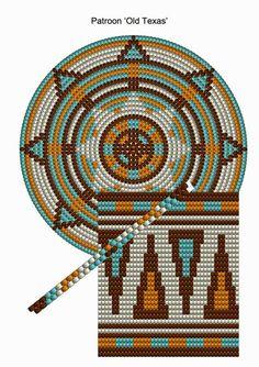 Mochila Pocket Pattern - Old Texas - CraftsbyManon Mochila Crochet, Bag Crochet, Crochet Purses, Crochet Chart, Tapestry Crochet Patterns, Loom Patterns, Stitch Patterns, Knitting Patterns, Tapestry Bag