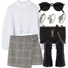 Untitled #6987 by laurenmboot on Polyvore featuring moda, MANGO, Zimmermann, Yves Saint Laurent and Miss Selfridge