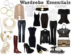 """Wardrobe Essentials: Woman"" by jchantal on Polyvore"