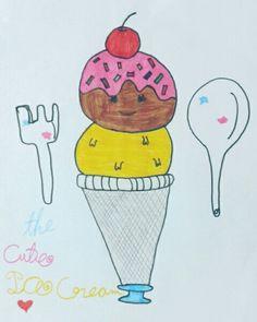 The cute Icecream 🍦😄