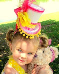 MINI Top Hat  ADELINE   Lalaloopsy Birthday  by KROWNKREATIONS, $26.99