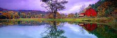 NEW ENGLAND REFLECTIONS, VT, USA