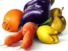 lelijke groenten zijn ook maar gewoon groenten! NO WASTE supermarkten zouden alles groentes moeten verkopen, ook de misvormde groenten