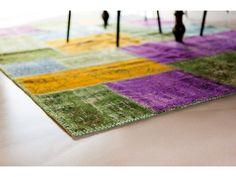 Винтажные ковры - очень актуально в этом году.
