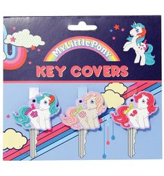 Official My Little Pony Key Covers