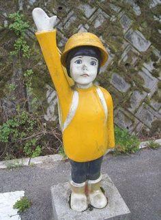 飛び出し坊や(Dash out boy)  Children, boys, girls,etc..