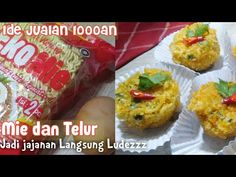 IDE JUALAN 1000an, Mie dan Telur jadi Jajanan Langsung Ludezz - YouTube Baked Potato, Noodles, Muffin, Easy Meals, Baking, Breakfast, Ethnic Recipes, Youtube, Food