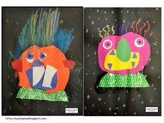 Glad Monster, Sad Monster - Art Project for Children