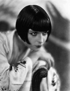 Louise Brooks in Kimono.  1920's