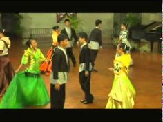 RIGODON DE HONOR: Filipino-Spanish Quadrille Folk Dance Introduced by the French People - YouTube