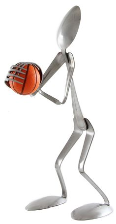 Basketball Player - Spoon- Retail© - Forked Up Art