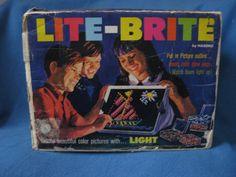 Vintage 1967 Amazing Hasbro LiteBrite