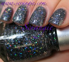 China Glaze: Eye Candy 3D Glitters Collection Winter 2011 - Some Like It Haute
