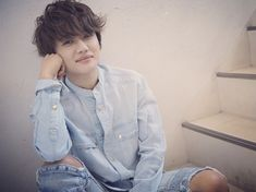 Listen to every Nissy track @ Iomoio Denim Button Up, It Cast, Singer, Actors, Track, Japanese, Band, Hair Style, Prince