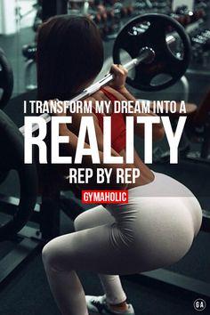 I transform my dream into a reality.