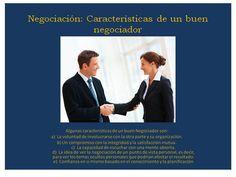Negociación algunas características de un buen negociador Teamwork, Tips