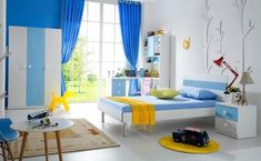 Set mobilier dormitor copii 5 piese: pat, noptiera, dulap, birou si scaun Toddler Bed, Kids Rugs, Curtains, Furniture, Home Decor, Insulated Curtains, Homemade Home Decor, Blinds, Kid Friendly Rugs