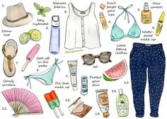 Stylish Ways To Beat The Summer Heat - Cindy Mangomini