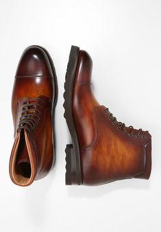 d2791c61 Boots ботинки · Magnanni Botines con cordones - manchester cognac/boltiar  acada cognac - Zalando.es