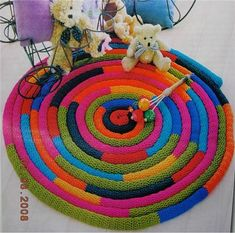 Wicker Free Pattern – Rug making String Crafts, Yarn Crafts, Spool Knitting, Knitting Needles, Crochet Cactus, Crochet Abbreviations, Knit Art, Bobble Stitch, Star Stitch