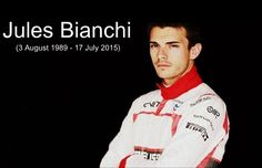 Born on 3 August Formula one driver Jules Bianchi has died on 17 July, 2015 after fighting with critical injuries for 9 months. He was 25 year old. F1 Drivers, 25 Years Old, 9th Month, Passed Away, Formula One, Polo Ralph Lauren, Mens Tops