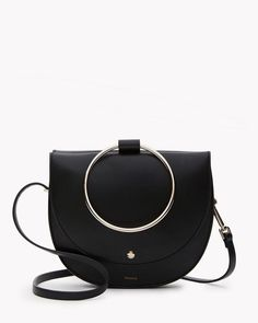 Theory circle handle handbag on ShopStyle.