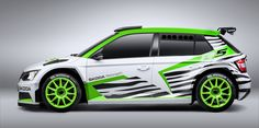 Skoda Fabia R5 WRC-2 rally car will debut in Essen - Photos (1 of 3)