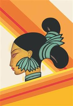 WALLS 360 wall graphics: Hill Woman of Assam
