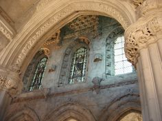 Rosslyn Chapel, properly named the Collegiate Chapel of St Matthew, located at the village of Roslin, Midlothian, Scotland. Rosslyn Chapel, Tours Of England, Saint Matthew, Knights Templar, British Isles, 15th Century, Outlander, Barcelona Cathedral, Britain