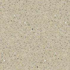 quartz countertop sample in stellar cream