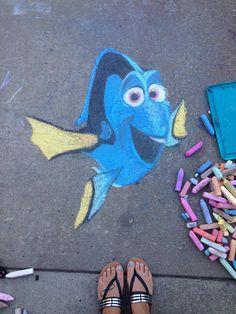 Chalk Drawings Sidewalk Discover These Disney Sidewalk Chalk Drawings Are Too Cute for Words She captured likenesses of Belle Merida Tiana Cruella de Vil and more. Chalk Art Quotes, 3d Chalk Art, Art 3d, 3d Artwork, 3d Street Art, Street Art Graffiti, Graffiti Artists, Street Artists, Art Ideas For Teens