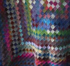 Ravelry: graphica's Amish entrelac quilt