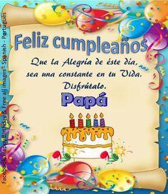 Papá ┌iiiii┐Felíz Cumpleaños ┌iiiii┐
