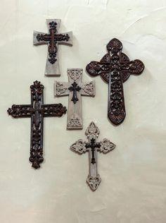 Cross Your Heart wall crosses