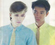 Ryuichi Sakamoto with David Sylvian