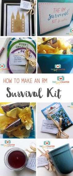 Have a returned missionary coming home soon? Check out these ideas for a Survival Kit that will help them with the transition! Survival Supplies, Survival Prepping, Survival Gear, Survival Skills, Survival Equipment, Survival Essentials, Survival Weapons, Emergency Preparedness, Manchester United